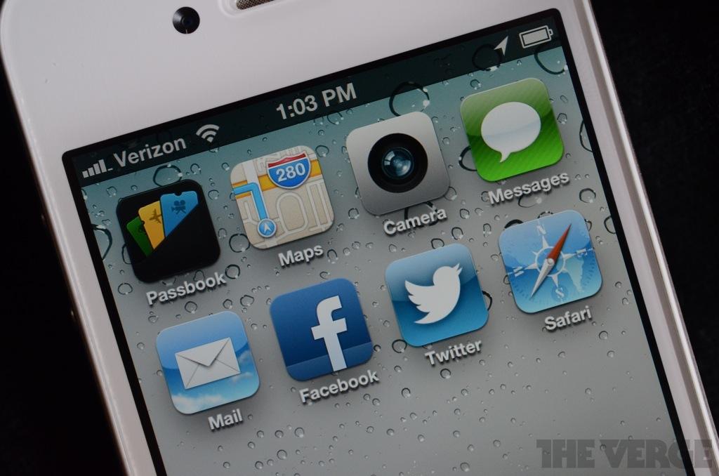 iOS 6 icons hero