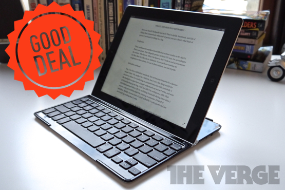 Logitech iPad keyboard good deal