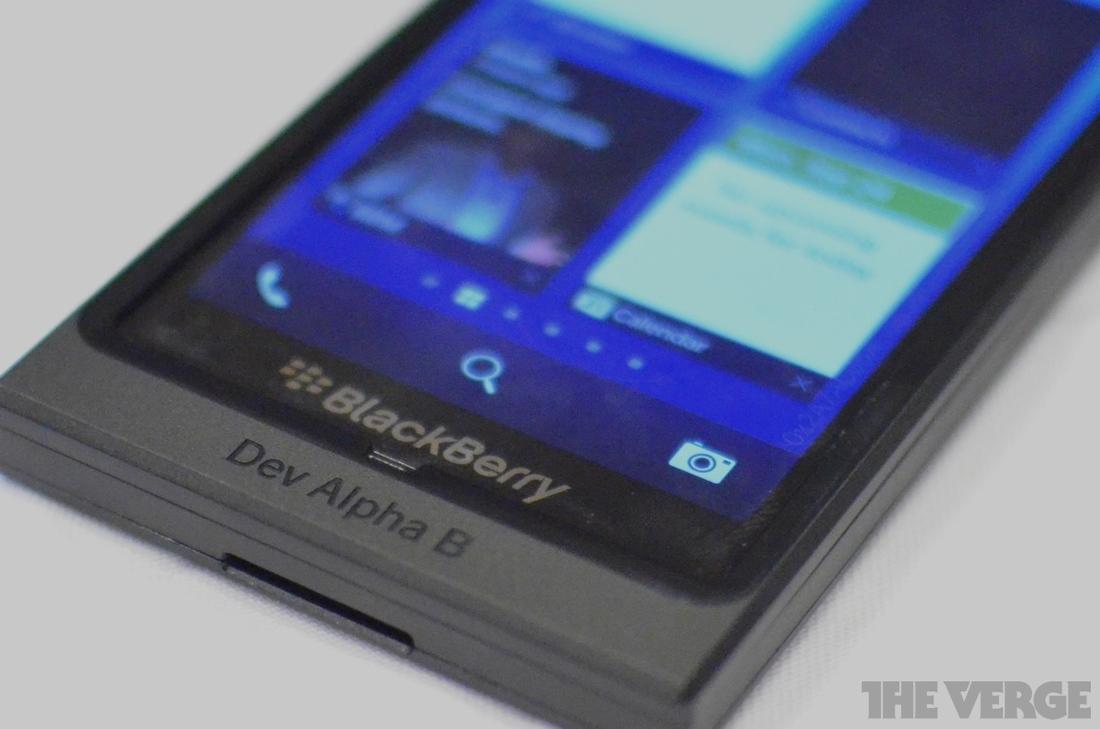 Gallery Photo: BlackBerry Dev Alpha B photos