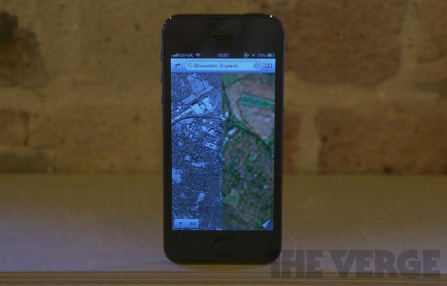 iPhone 5 Maps error