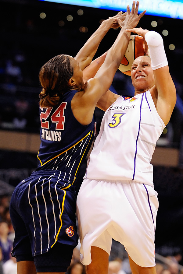 Diana Taurasi and the Phoenix Mercury were frustrated all night by the Indian Fever and their own level of play.
