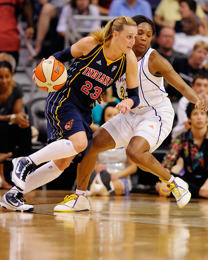 Katie Douglas and Cappie Pondexter are two of the best athletes in the world. Watching them and their peers compete this season has been a privilege. Photo by Max Simbron, August 8, 2009. Phoenix, AZ