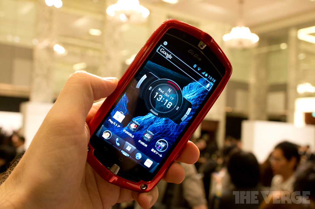 Gallery Photo: Casio G'z One Type-L hands-on gallery