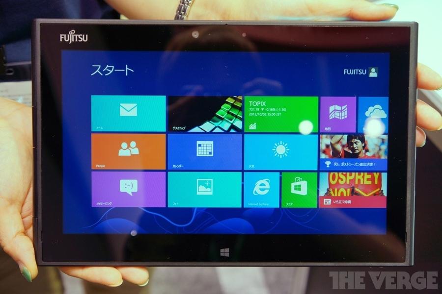 Fujitsu Arrows Tab QH55 Windows 8 tablet