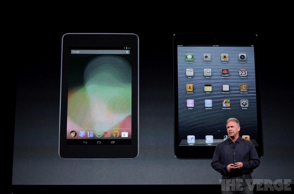 Gallery Photo: Apple's iPad mini event in photos