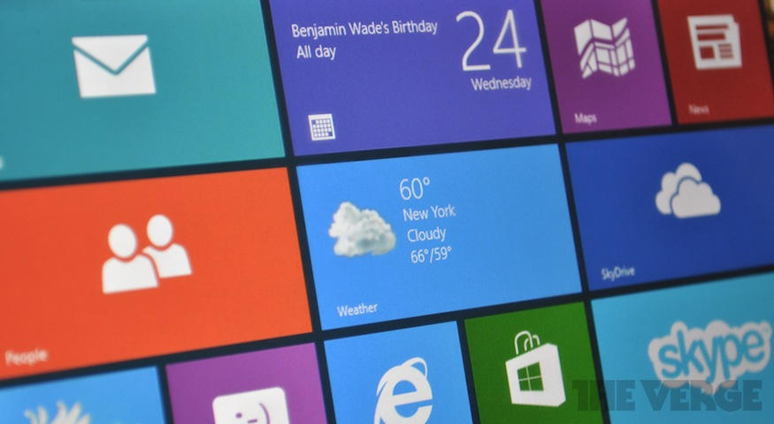 Windows RT macro