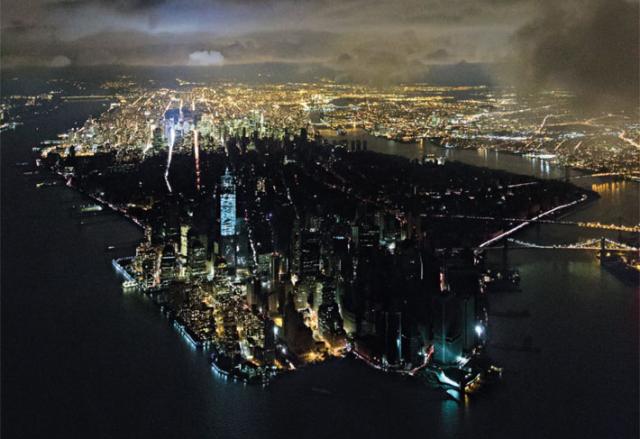 Iwan Baan aerial shot of NYC