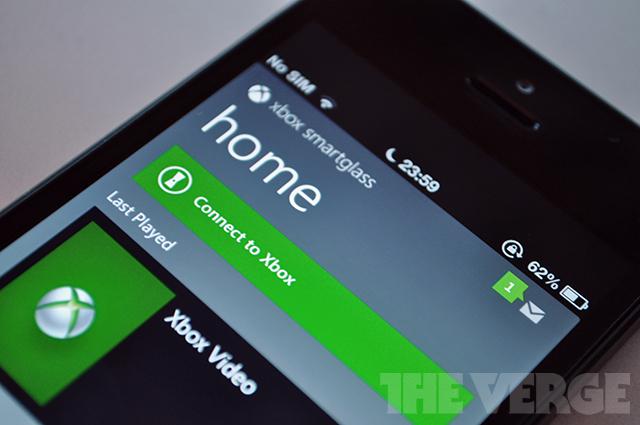 Xbox SmartGlass iOS app stock