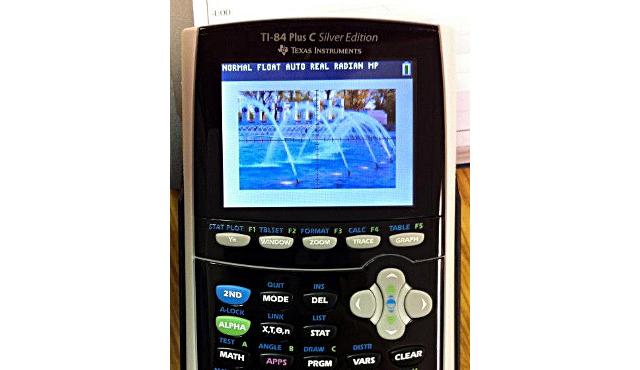 TI-84 Color Screen Leak