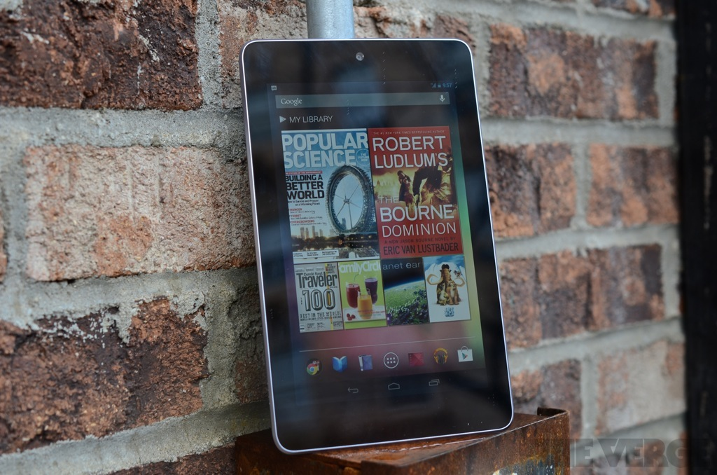 Nexus 7 with mobile
