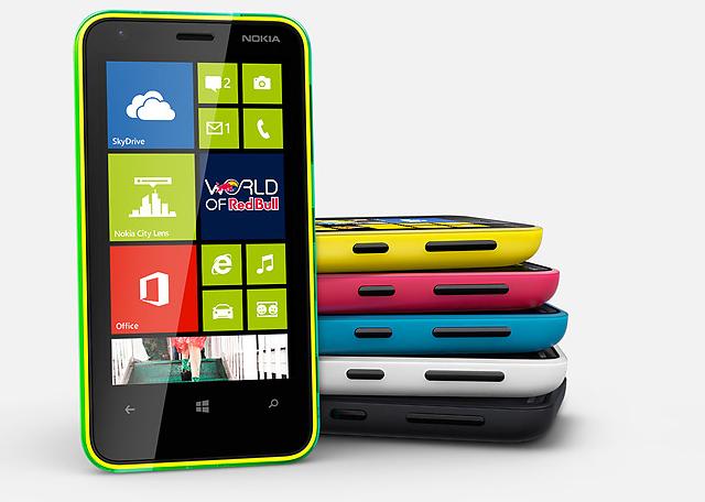 Nokia Lumia 620 stock