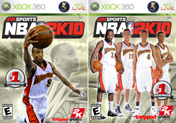 <em>Kobe Bryant isn't doing it for you on this year's NBA 2K10 cover? Have no fear Warrior friends, we came to deliver!</em>