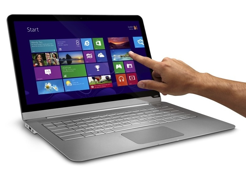 Vizio 14-inch thin + light with touch