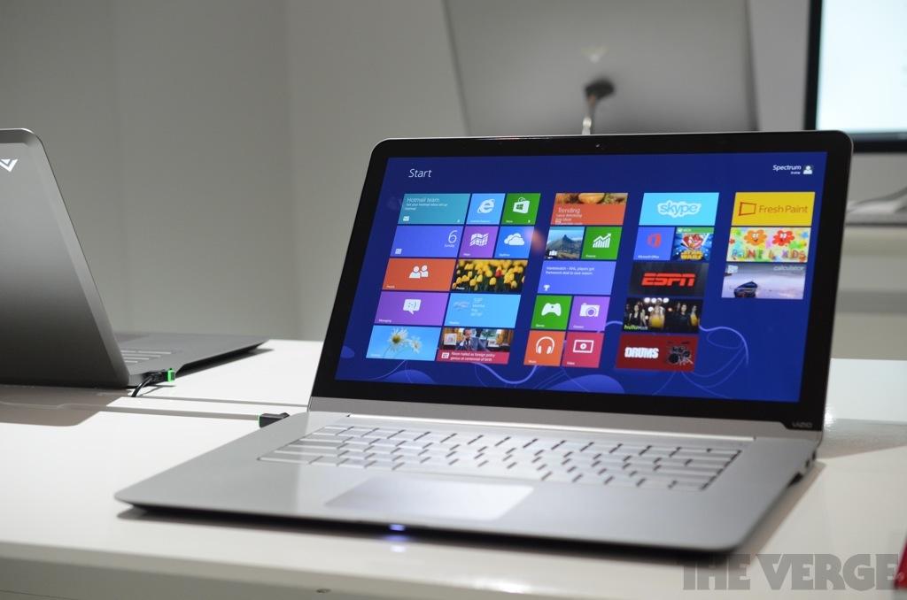 Vizio touch laptops