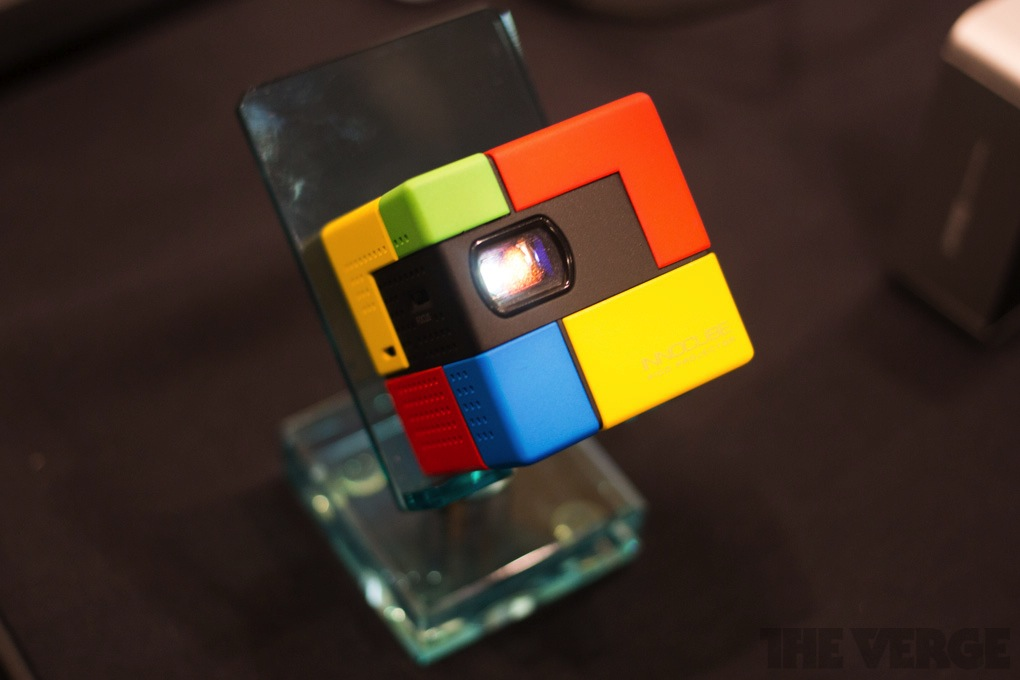 Innocube DLP pico projector