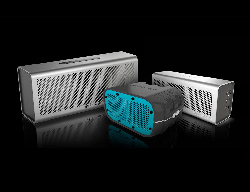 Braven 850 570 BRV-1 Bluetooth speakers