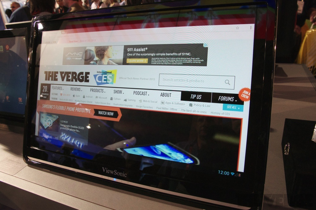 Viewsonic 24-inch Android display