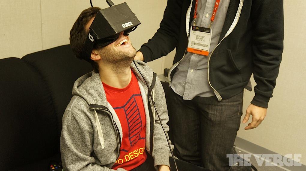Oculus Rift at CES Trailer