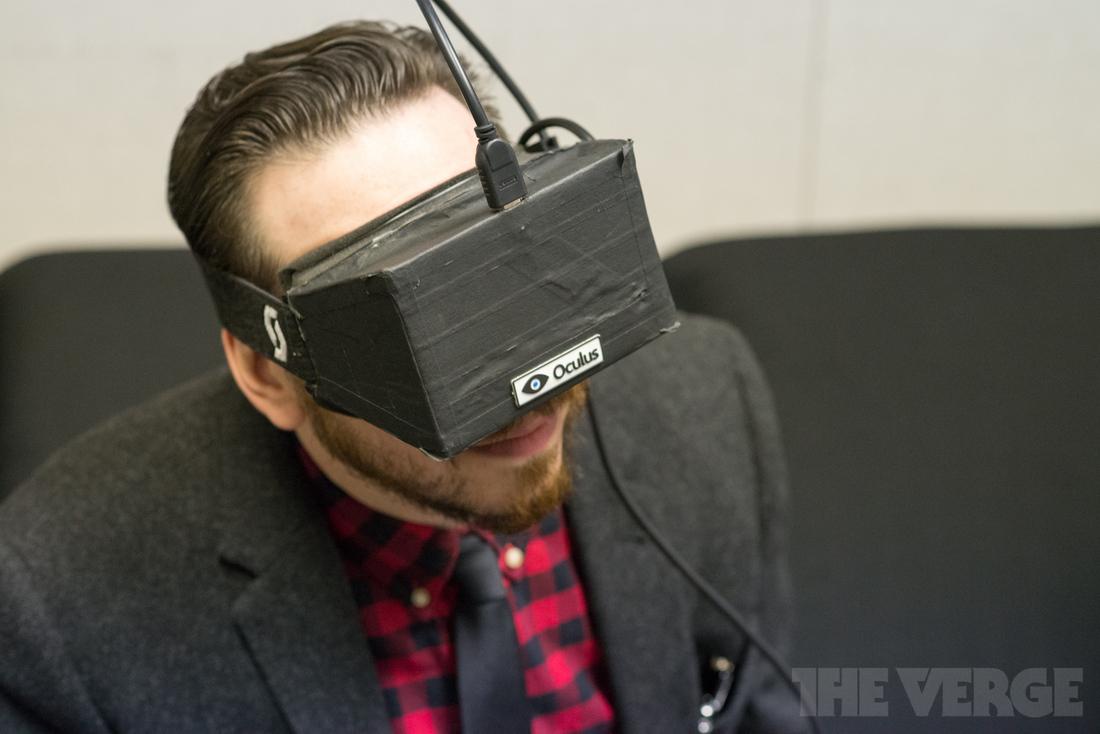 joshua topolsky ces 2013 stock oculus rift