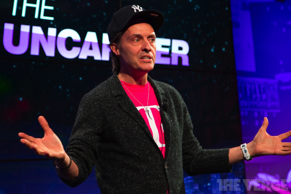 T-Mobile CEO John Legere stock 1020 3