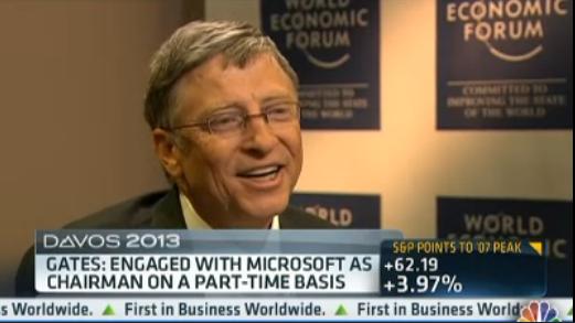 Bill Gates CNBC interview small