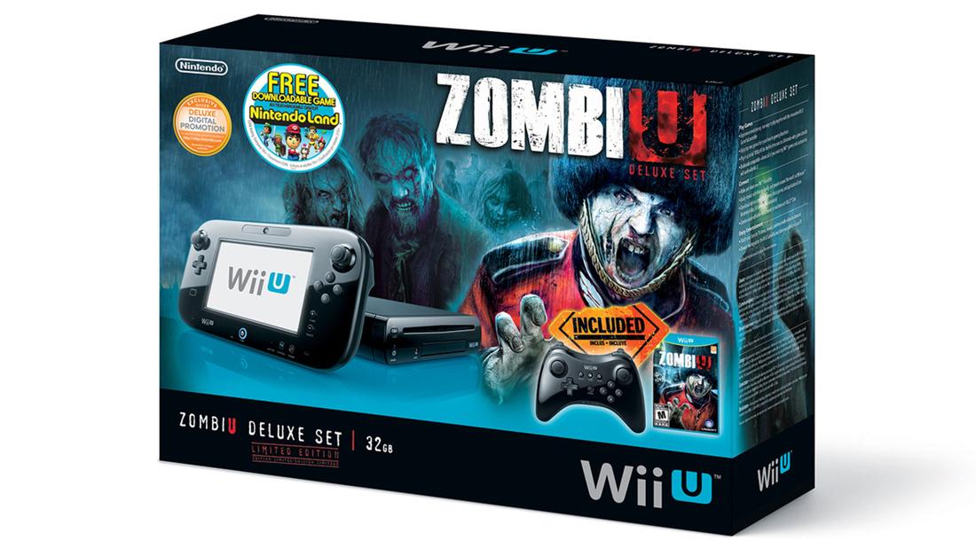 Wii U Zombiu Deluxe Set