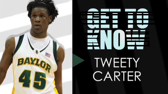 Senior guard Tweety Carter will make his season debut tonight in Baylor's biggest test of the year against Alabama. Carter was suspended for the first four games of the season for an undisclosed team violation.