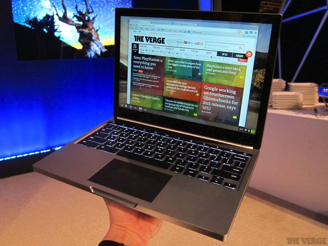 Gallery Photo: Chromebook Pixel hands-on photos