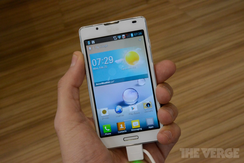 Gallery Photo: LG Optimus L7 II hands-on pictures