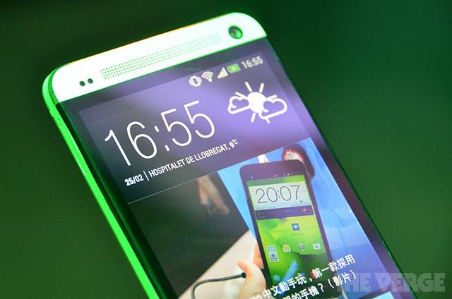 HTC One stock