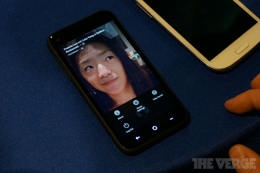 Gallery Photo: Facebook Home hands-on photos