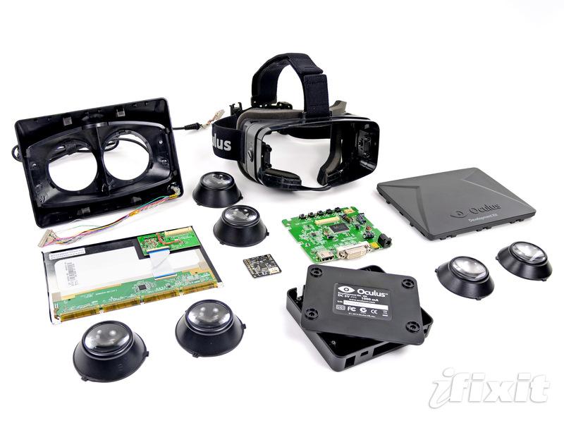 Oculus Rift iFixit teardown