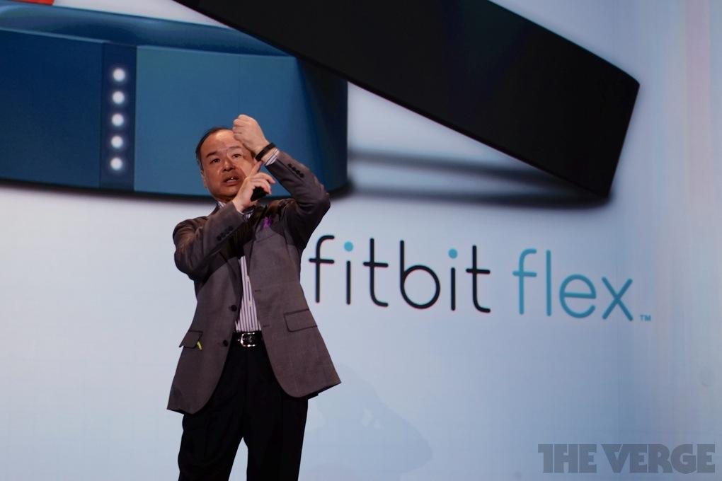 masayoshi son softbank healthcare fitbit flex