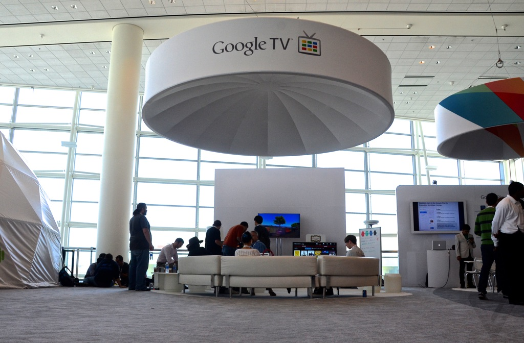 Google TV booth I/O