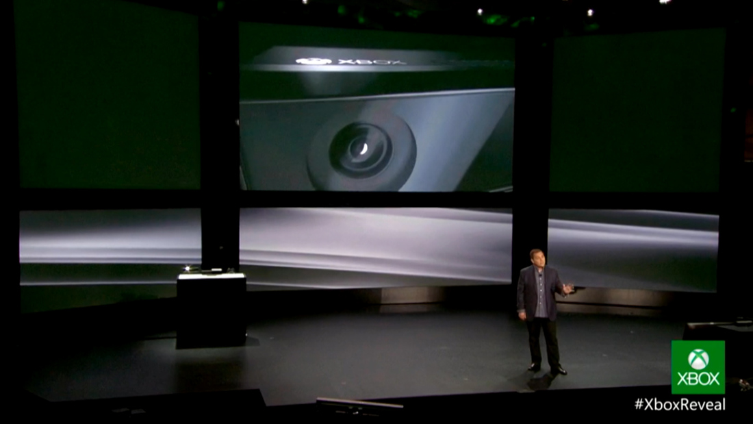 Kinect new Xbox One