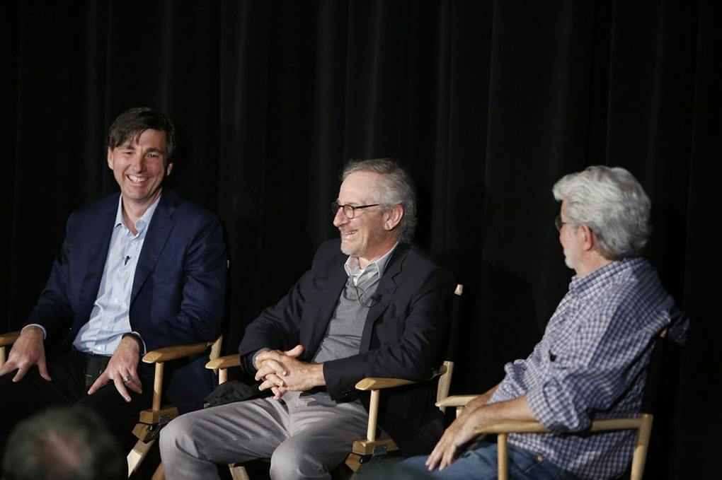 George Lucas / Steven Spielberg / Don Mattrick USC