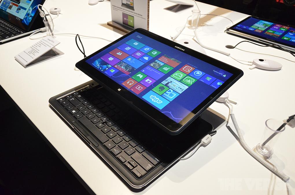 Gallery Photo: Samsung Ativ Q hands-on photos
