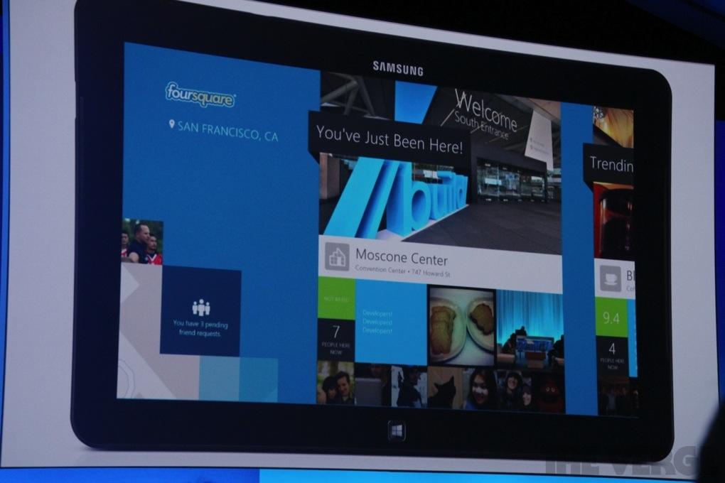 Gallery Photo: Foursquare for Windows 8
