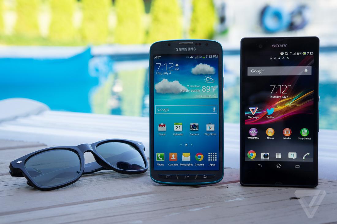 Galaxy S4 Active, Xperia Z hero (1024px)