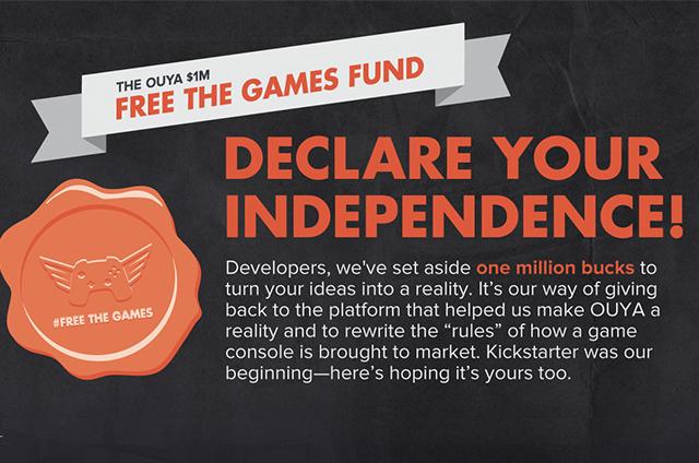 Ouya Free The Games