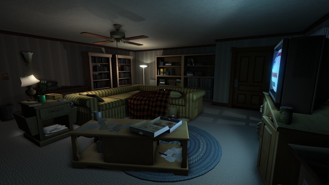 Gone Home Living Room Picture