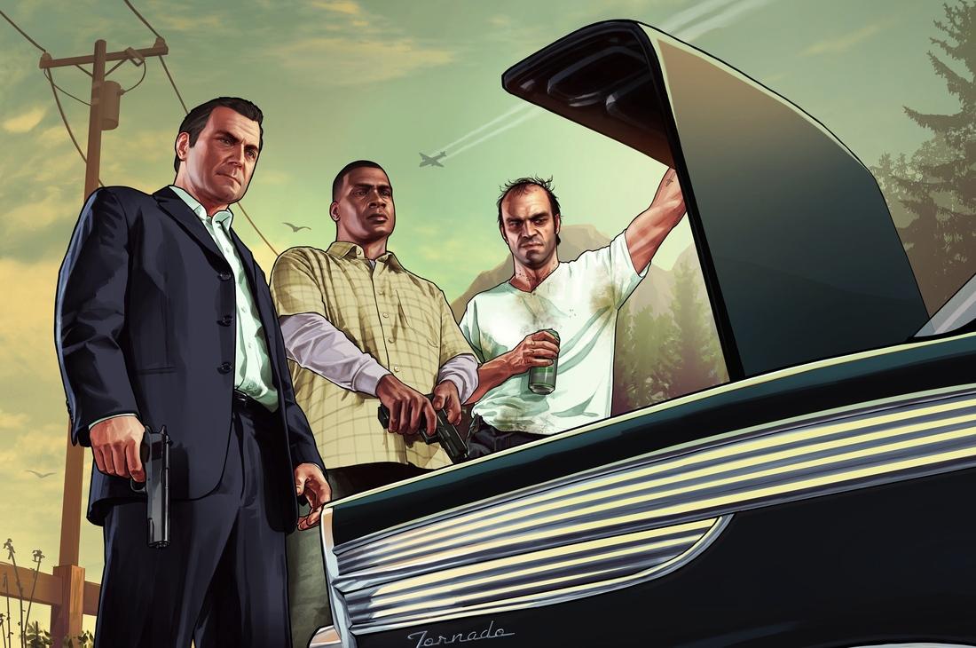 GTA V trunk