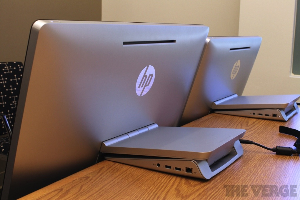 Gallery Photo: HP Envy 23 Recline and Envy 27 Recline hands-on pictures