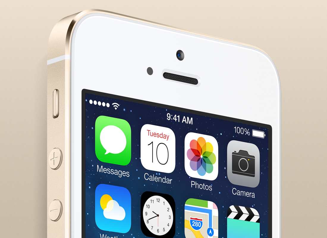 Gallery Photo: Gold iPhone 5s