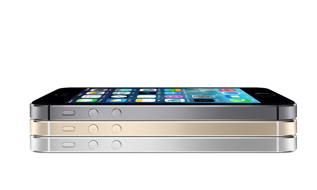 iPhone 5s press