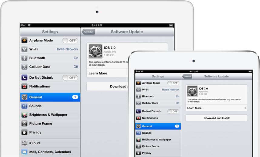 iOS 7 now available