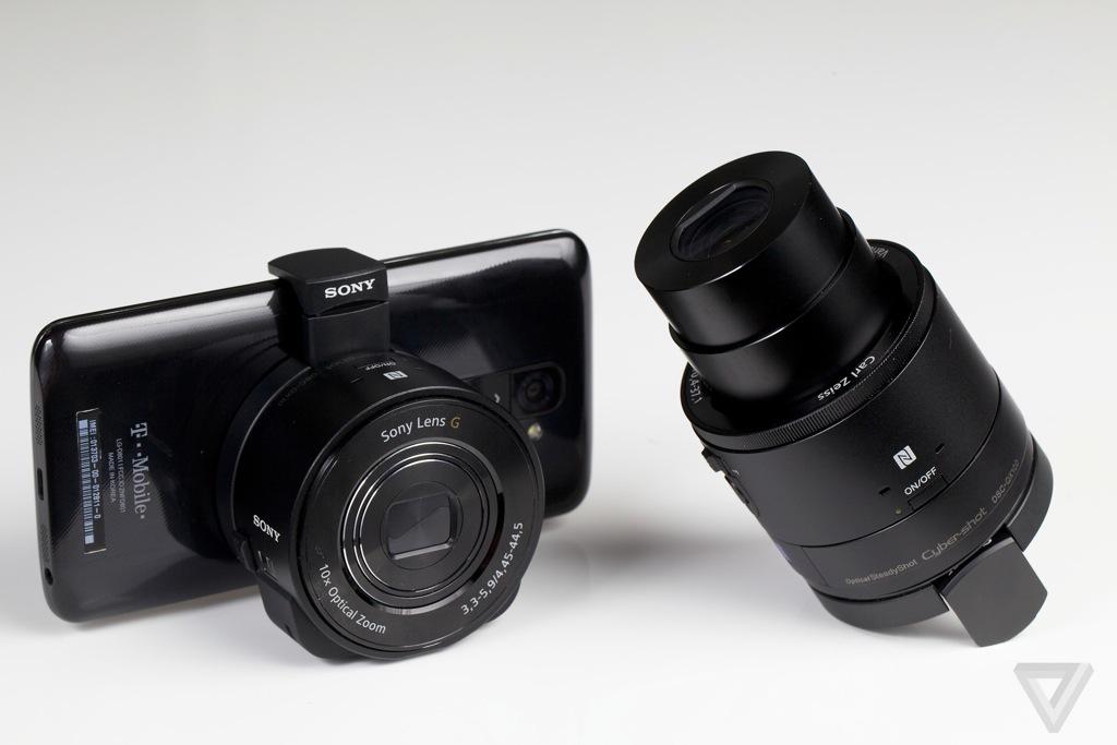 Sony Lens cameras QX10 and QX100