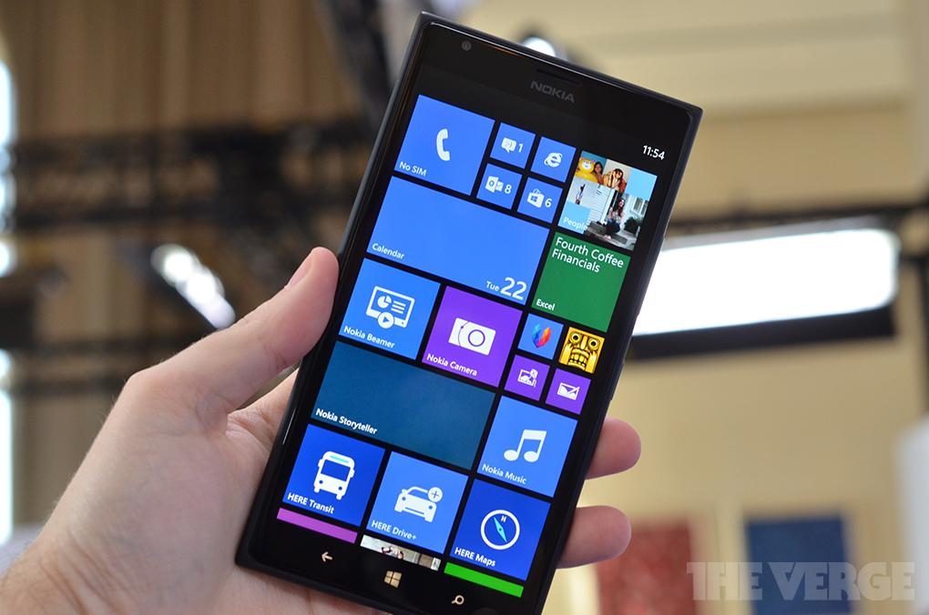 Gallery Photo: Nokia Lumia 1520 hands-on photos