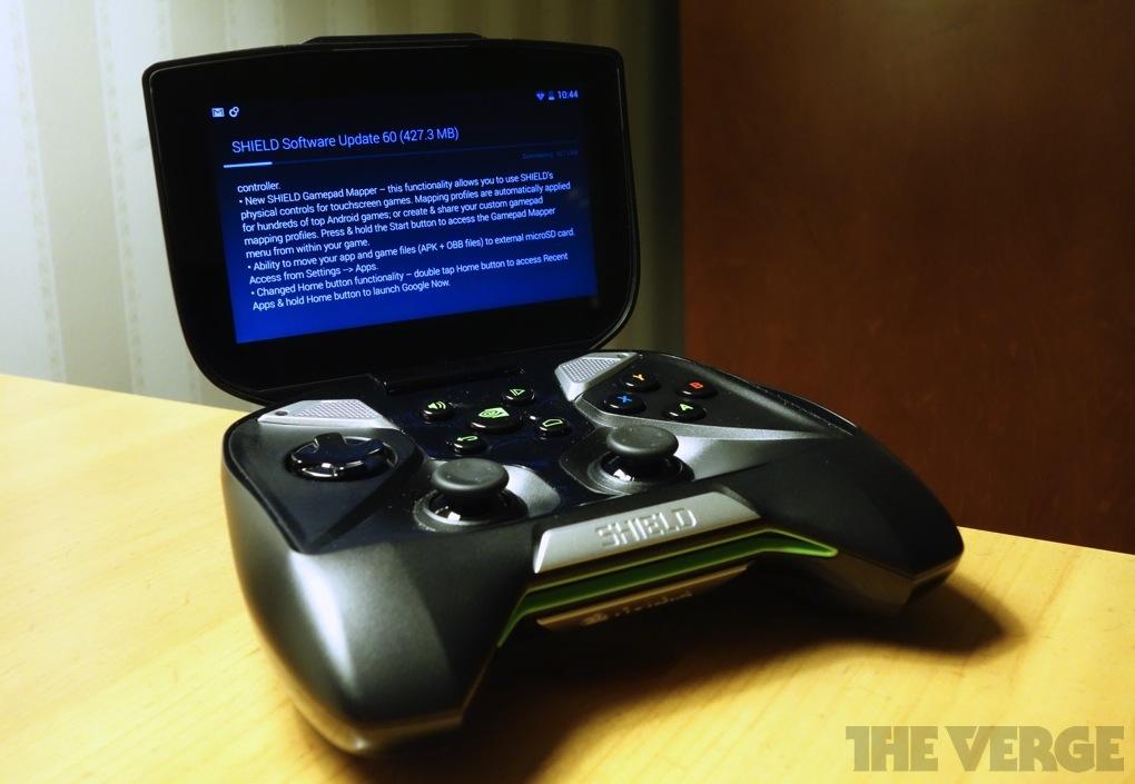 Nvidia Shield update 1020