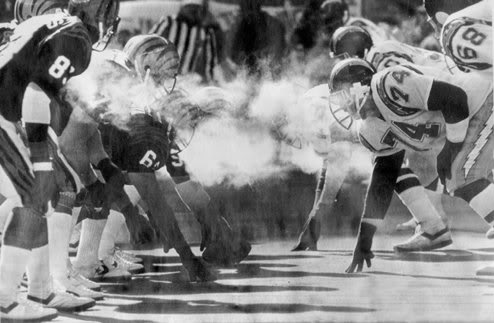 The 1981 AFC Championship Game, known as the  Freezer Bowl, pitted the Cincinnati Bengals against the San Diego Chargers,